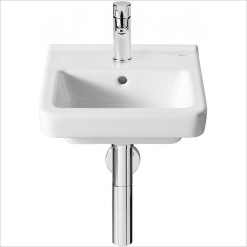 Roca - Dama-N Wall-Hung Compact Basin 350 x 320mm 1TH