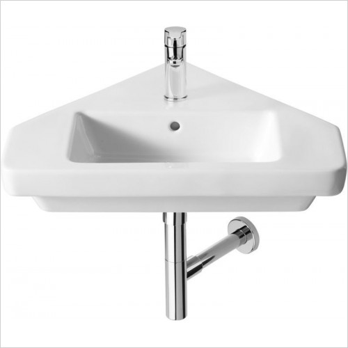 Roca - Dama-N Corner Basin 650 x 565mm 1TH