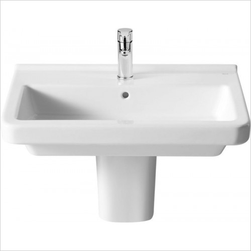 Roca - Dama-N Semi-Pedestal For Compact Basins