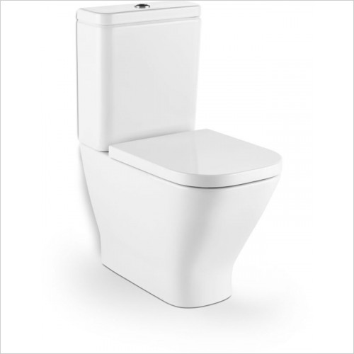 Roca - The Gap Close-Coupled Cistern Only 4/2L Push Putton