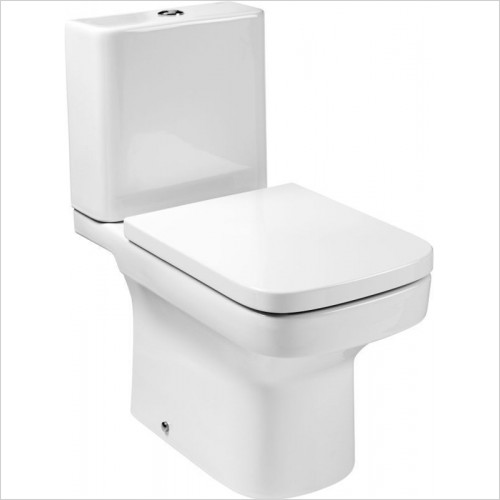 Roca - Dama-N Close-Coupled Shell Cistern Only 4.5/3L Push Button