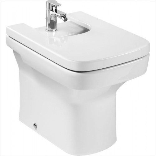 Roca - Dama-N Floor-Standing Bidet (Back-To-Wall) 1TH