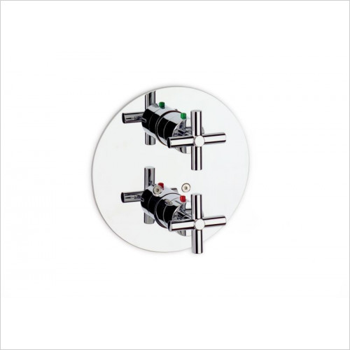 Roca - Loft 1/2'' - 1/2'' Built-In Thermostatic Bath Or Shower Mixe