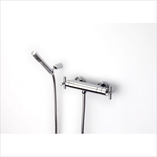 Roca - Loft 1/2 Turn Wall-Mounted Thermostatic Shower Mixer