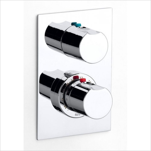 Roca - Moai 1/2'' - 1/2'' Built-In Thermostatic Bath Or Shower Mixe