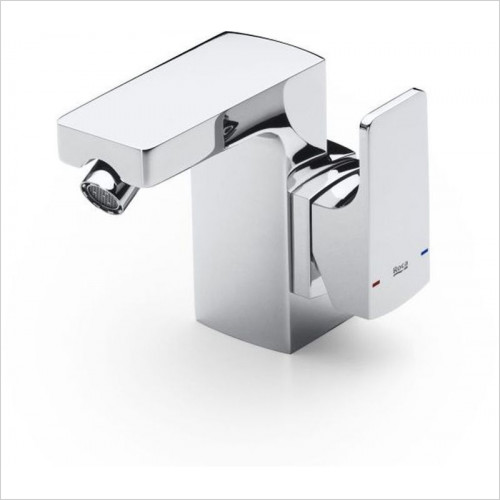 Roca - L90 Bidet Mixer With Side Handle Excl Waste