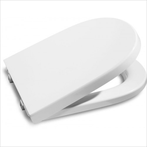 Roca - Meridian-N Compact Soft Close Toilet Seat & Cover