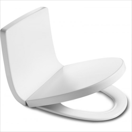 Roca - Khroma Soft Close Toilet Seat & Cover