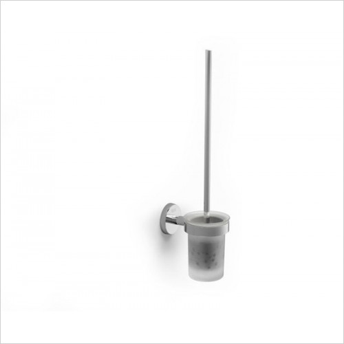 Roca Accessories - Twin Wall Mounted Toilet Brush & Holder