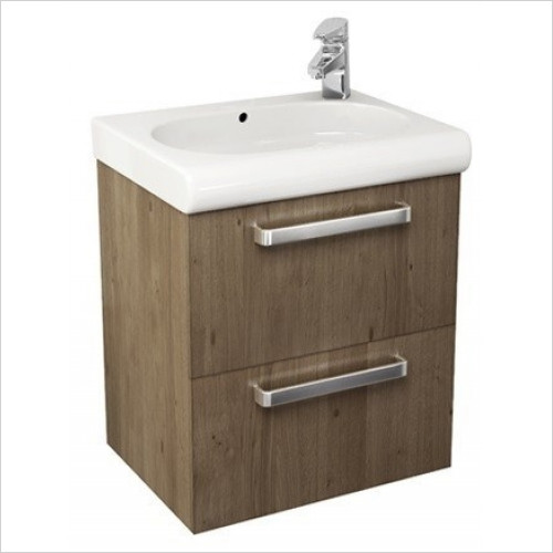 Roca - Meridian-N Basin Unit With 2 Drawers To Suit 600mm Basins
