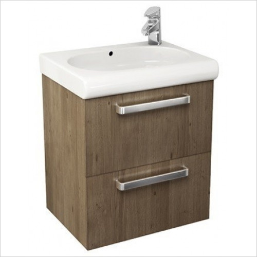 Roca - Meridian-N Basin Unit With 2 Drawers To Suit 550mm Basins