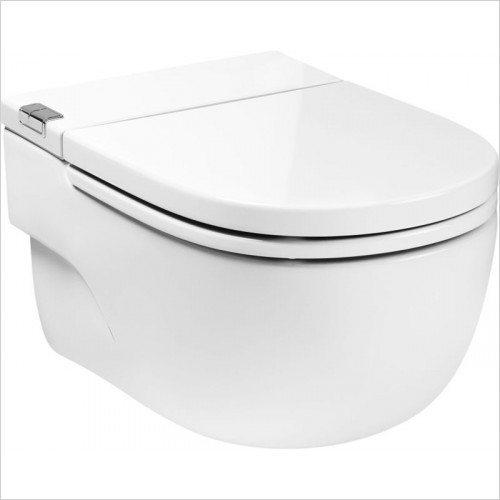 Roca - Intank Meridian Wall-Hung WC With L-Shaped Support Frame