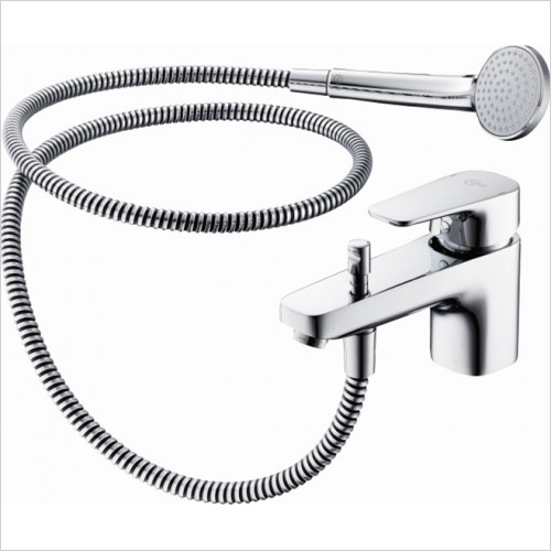 Ideal Standard - Bathrooms - Tempo 1 Hole Bath Shower Mixer