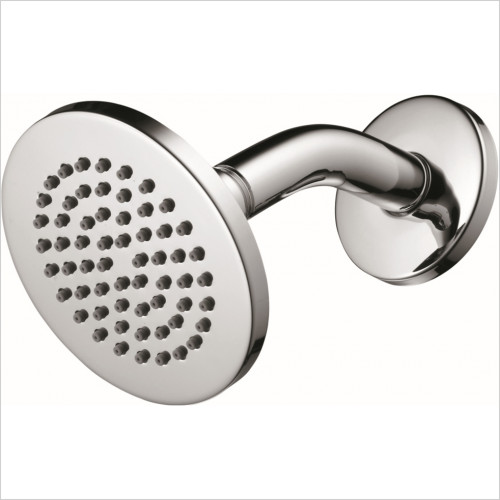 Ideal Standard - Bathrooms - Idealrain S1 Rainshower Fixed Shower Head With Angled Arm