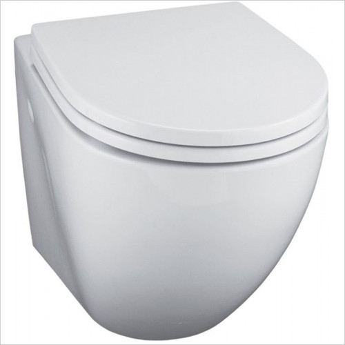 Ideal Standard - Bathrooms - White Wall Mounted WC Pan With Horizontal Outlet