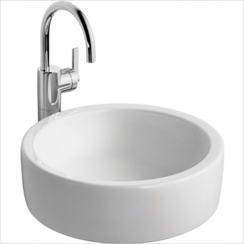 Ideal Standard - Bathrooms - White Vessel Washbasin, 400mm Diameter, NTH