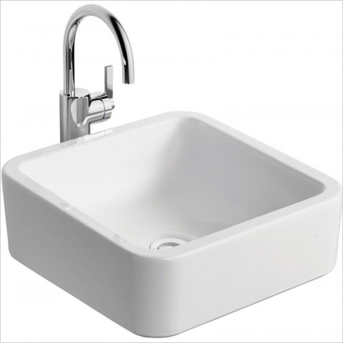 Ideal Standard - Bathrooms - White Cube 400mm Vessel Washbasin, NTH