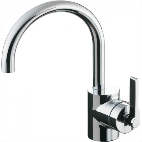 Ideal Standard - Bathrooms - Silver Basin Mixer 1 Hole Single Lever Pop-Up Waste