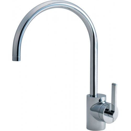 Silver Sink 1 Hole Mixer Single Lever