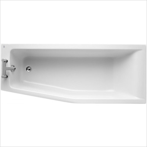 Ideal Standard - Bathrooms - Concept 1700 x 700mm Idealform Spacemaker Shower Bath LH NTH