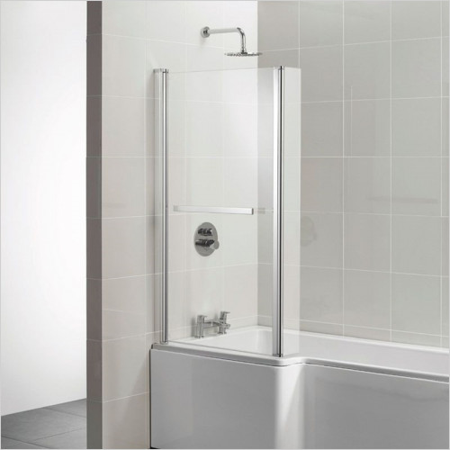 Ideal Standard - Bathrooms - Concept Square Shower Bath Screen