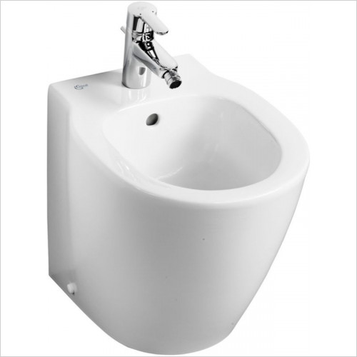 Ideal Standard - Bathrooms - Concept Space Compact Back To Wall Bidet 1TH