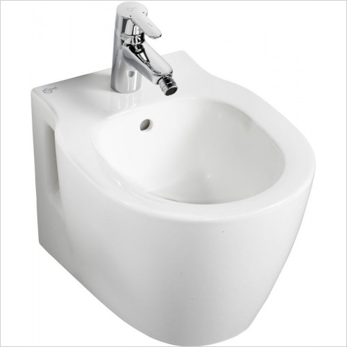 Ideal Standard - Bathrooms - Concept Space Compact Bidet Wall Mounted 1TH
