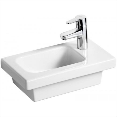 Ideal Standard - Bathrooms - Concept Space 450mm Guest Washbasin 1TH LH Platform