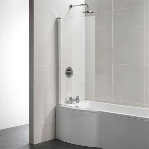 Ideal Standard - Bathrooms - Tempo Arc Shower Bath Screen