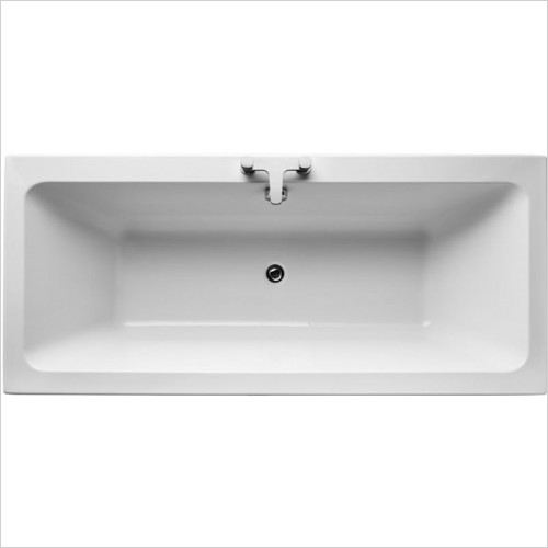 Ideal Standard - Bathrooms - Tempo Cube 1800 x 800mm Idealform Double Ended Bath