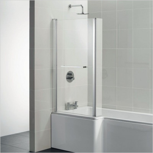 Ideal Standard - Bathrooms - Tempo Cube Square Shower Bath Screen