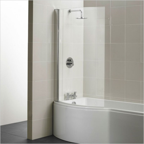 Ideal Standard - Bathrooms - Concept Shower Bath Screen