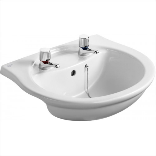 Ideal Standard - Bathrooms - Alto 550mm Semi-Countertop Washbasin 2TH