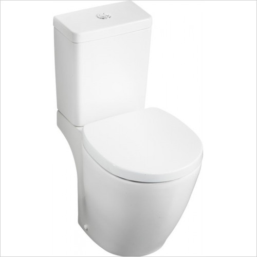 Ideal Standard - Bathrooms - Concept Cube 6/4 Litre Valve Cistern Bottom Supply