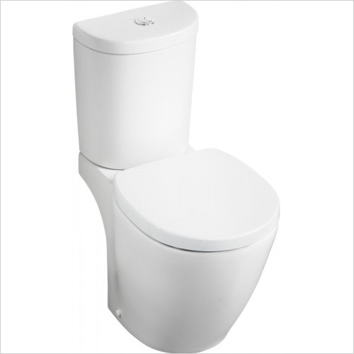 Ideal Standard - Bathrooms - Concept Arc Cistern 6/4 Litre Valve Bottom Supply