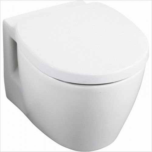 Ideal Standard - Bathrooms - Concept Space Compact Wall Mounted WC Pan