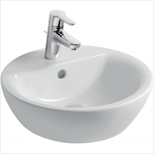 Ideal Standard - Bathrooms - Concept Sphere 430mm Vessel Washbasin, 1TH