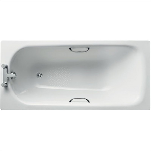 Ideal Standard - Bathrooms - Simplicity 1500 x 700mm Steel Bath 2TH With Handgrips