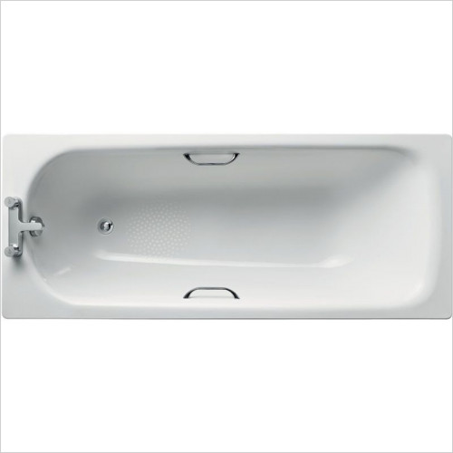Ideal Standard - Bathrooms - Simplicity 1700 x 700mm Steel Bath 2TH With Handgrips