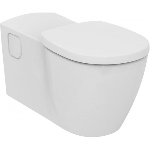 Ideal Standard - Bathrooms - Concept Freedom Wall Hung Elongated WC Pan
