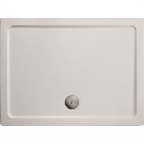 Ideal Standard - Bathrooms - Simplicity 900 x 800mm Low Profile Flat Top SR Shower Tray