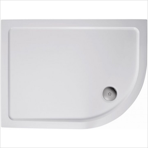 Ideal Standard - Bathrooms - Simplicity 1200 x 800mm LH Offset Quad Flat Top Shower Tray