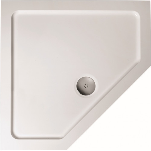 Ideal Standard - Bathrooms - Simplicity 900 Pentagon Low Profile Flat Top SR Shower Tray