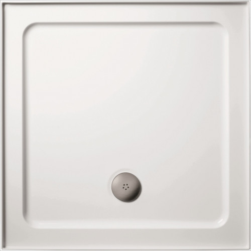 Ideal Standard - Bathrooms - Simplicity 800 x 800mm LH Upstand SR Shower Tray 4 Upstands
