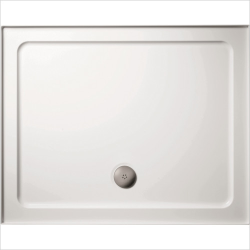 Ideal Standard - Bathrooms - Simplicity 1000 x 800mm LH Upstand SR Shower Tray 4 Upstands