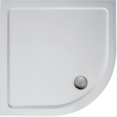 Ideal Standard - Bathrooms - Simplicity 800mm Quadrant Low Profile Upstand SR Shower Tray