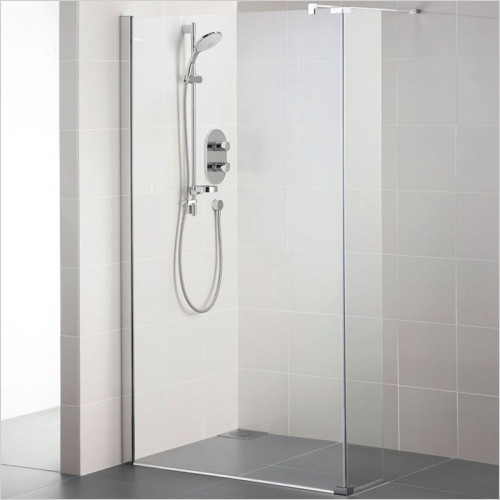 Ideal Standard - Bathrooms - Synergy 300mm Return Panel, IdealClean Clear Glass