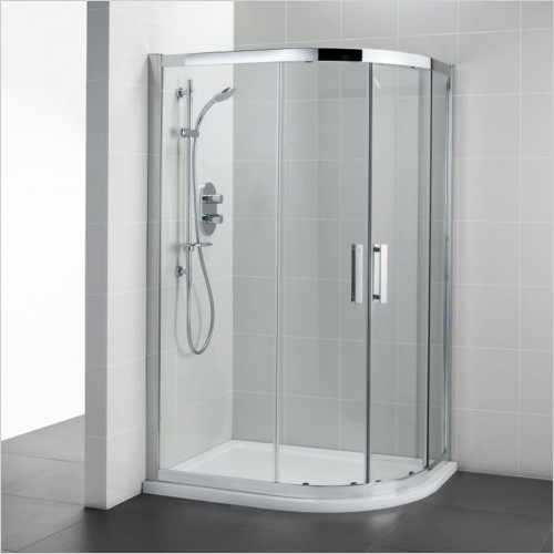 Ideal Standard - Bathrooms - Synergy 1200 x 900mm Offset Quadrant Enclosure