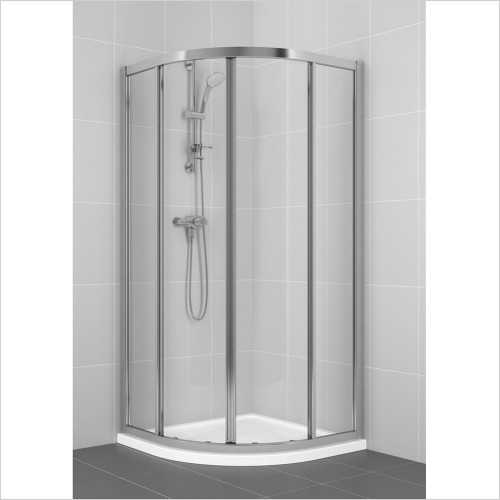 Ideal Standard - Bathrooms - New Connect 800mm Quadrant Shower Door, Clear Glass