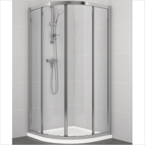 Ideal Standard - Bathrooms - New Connect Quadrant 900mm Shower Door, Clear Glass